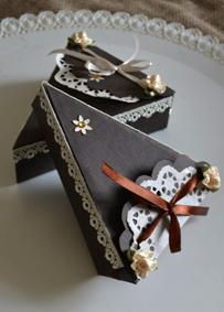 Упаковка для подарков торт 374
