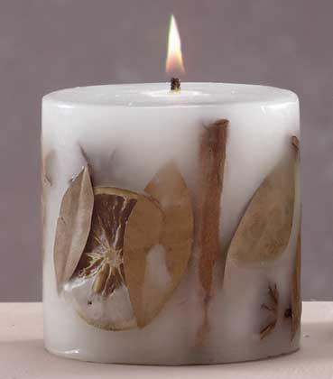 Как сделать самодельную свечку в домашних условиях